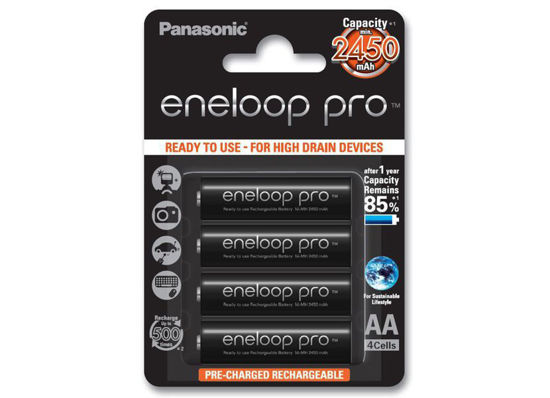 Picture of Panasonic Eneloop Pro akut